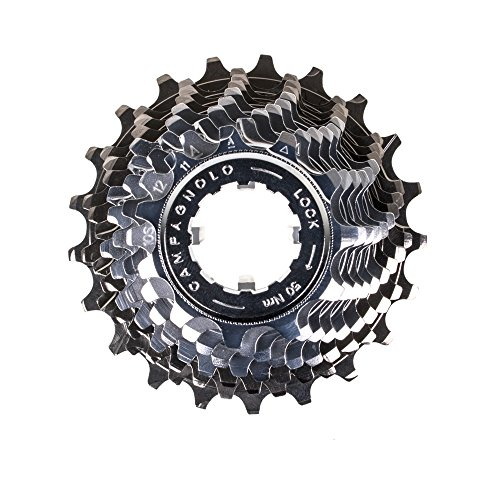 Campagnolo Record Ultra-Drive 10-Speed 11-21 Cassette - with Lockring (Campagnolo Steel Lock)