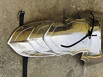 LARP Medieval Knight Larp Cosplay Theater Warrior Pauldrons Shoulder Armor