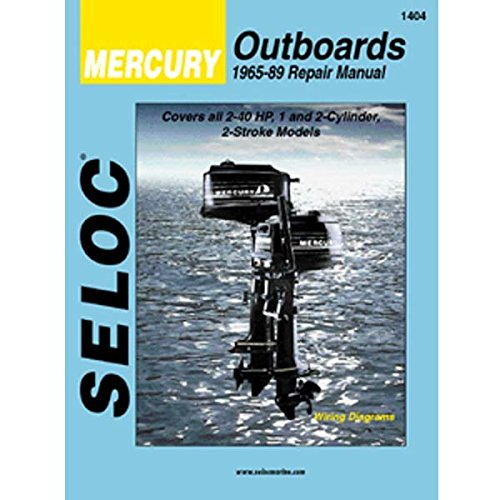 (Seloc Service Manual Mercury Outboards - 1-2 Cyl - 1965-89)