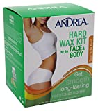 Andrea Hard Wax Kit For Face & Body (3 Pack)