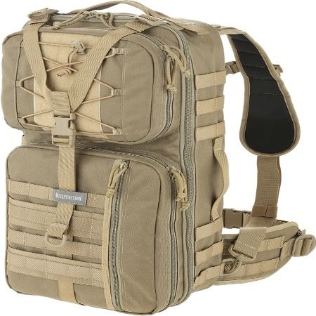 Maxpedition Pecos Gearslinger Backpack, Large, Khaki