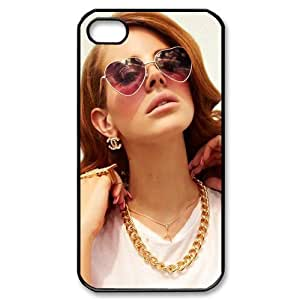 Lana Del Rey Design TPU Protective Cover Case For Iphone 4 4s iphone4s-82315