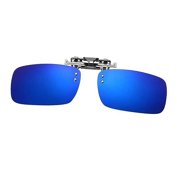c03c35a63e D DOLITY Gafas de Sol Polarizadas con Clip Proteccción UV 400 Anteojos  Recetados para Mujer Hombre Casual Moda - Azul, como se describe:  Amazon.es: Ropa y ...