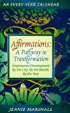 Affirmations, A Pathway to Transformation, Jeanie Marshall, 1885893019