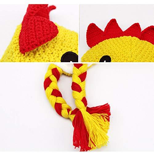 7f42998e17706 IMLECK Kids Winter Warm Fleece Lined Knit Chicken Hat for Girls and Boys