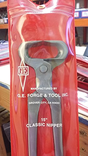 G.E.15'' CLASSIC NIPPER by G.E. FORGE AND TOOL