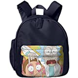 Baby Toddler Child Kid Rick And Morty Preschool Lunch Bag Navy