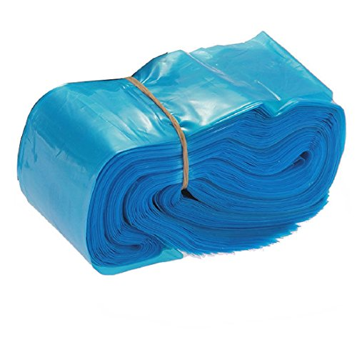 100pcs Clip Cord Sleeves Bags Covers Supply Disposable Safety Hygiene 2x24 inches