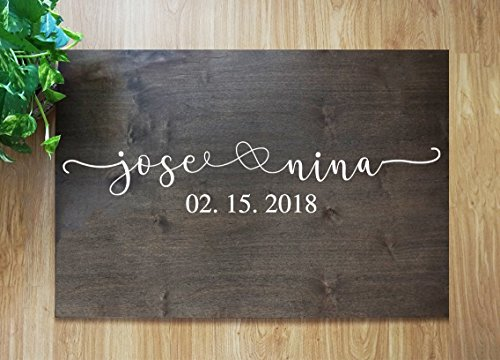 Wedding Guest Signing Board, a unique Wedding Guest Book Alternative & Wedding Keepsake. sign #F01