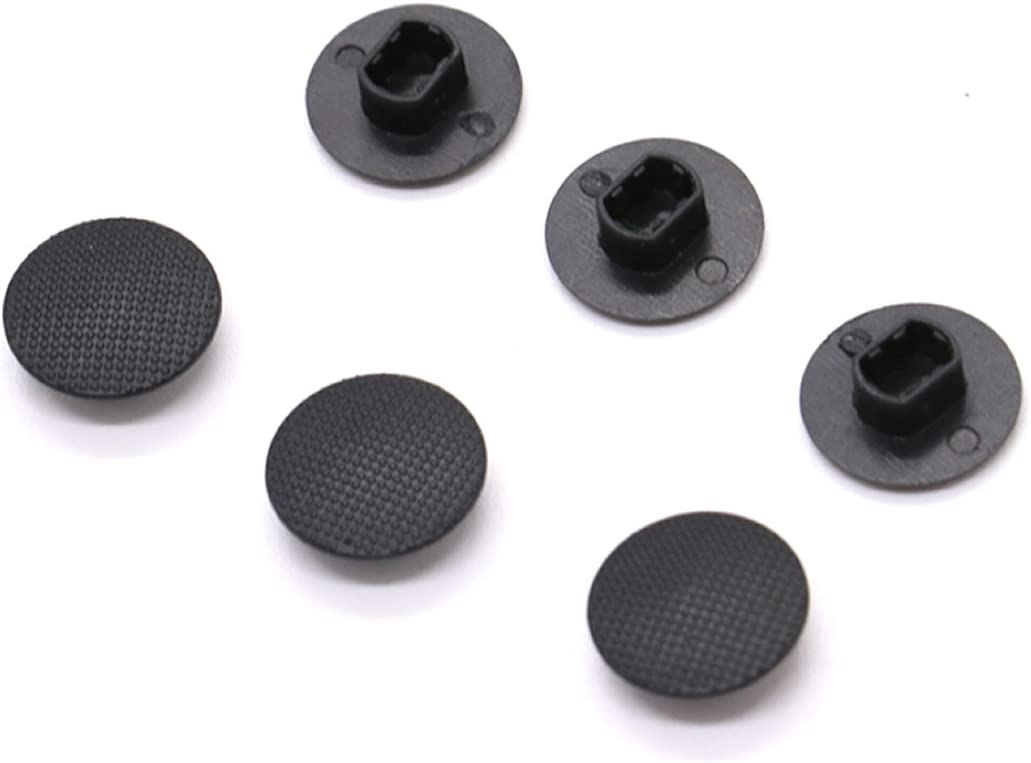 Pomeat 6 Pack Black Analog Joystick Stick Cap Cover Button for Sony PSP 1000: Computers & Accessories