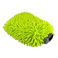 The Chenille Microfiber Premium Scratch Free Wash Mitt is made of thick microfiber strands that are woven into Big Fat Plump, caterpillar strands that are extremely absorbent to wash soaps and shampoo and non-abrasive to paint and finishes. T...