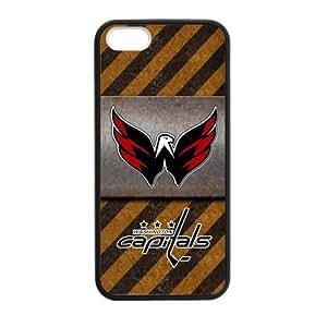 Custom Unique Design NHL Washington Capitals Iphone 5 5S Silicone Case