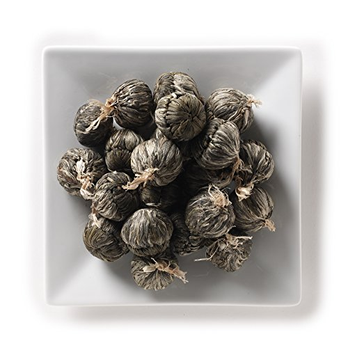 Price comparison product image Mahamosa Blooming Display Green Tea Loose Leaf (Looseleaf)- Lotus Jasmine Candlestick 2 oz,  Flowering Tea