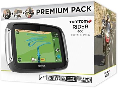 Tomtom Rider 400 Premium Pack Motorradnavigationsgerät Elektronik