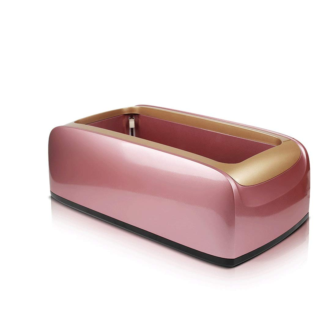 Yongyong Automatic Plastic Shoe Cover Machine Disposable Home Shoe Machine Office Foot Machine 40 22 15cm (Color : Rose Red)