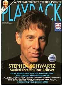 Playback Magazine August 2000 Stephen Schwartz Cover ...