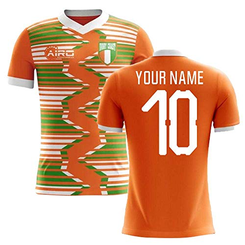 Airosportswear 2018-2019 Ivory Coast Home Concept Football Soccer T-Shirt Jersey (Your Name)
