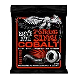 Ernie Ball Cobalt 7-String Skinny Top Heavy Bottom Slinky Set, .010 - .062