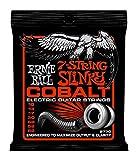 Ernie Ball Cobalt 7-String Skinny Top Heavy Bottom Slinky Set.010 - .062