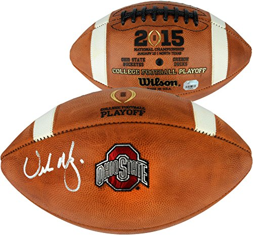 Urban Meyer Ohio State Buckeyes Autographed Wilson College Football Playoff Football - Fanatics Authentic...