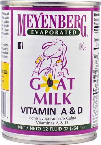 Meyenberg Evaporated Goat Milk -- 12 fl oz - 2 pc
