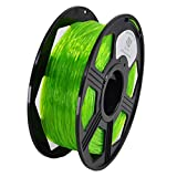 YOYI 1.75MM Flexible TPU Filament 1.75mm TPU 3D Printer Filament, Diameter Tolerance +/- 0.03 mm, 0.8 KG Spool, 1.75 mm (Green)