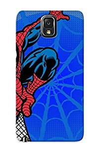 For Trinalgrate Galaxy Protective Case, High Quality For Galaxy Note 3 Ic Pider Man Skin Case Cover by lolosakes