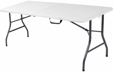 Cosco 6' Centerfold Table, Multiple Colors - Walmart.com