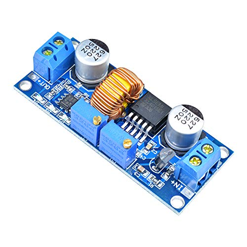 XL4015 CC/CVバックボード 調整可能DC-DC 6-38V to 1.25-36V 5A降圧電源モジュール