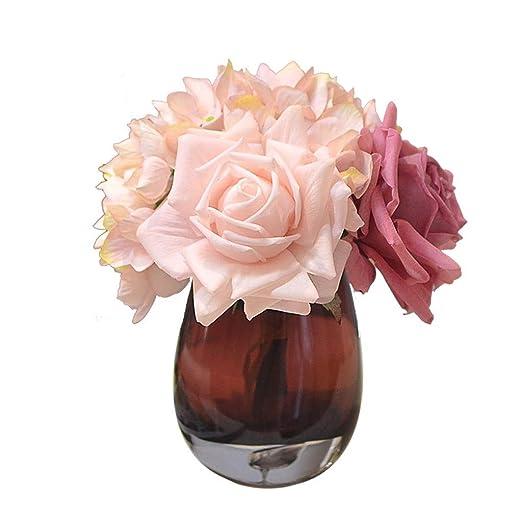 Anchor Flores de Hortensia Artificial Flores de Seda for centros ...