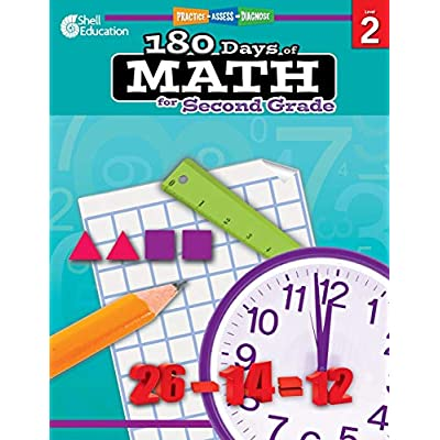 Buy 180 Days Of Math: Grade 2 - Daily Math Practice Workbook For Classroom  And Home, Cool And Fun Math, Elementary School Level Activities Created By  Teachers To Master Challenging Concepts Paperback –
