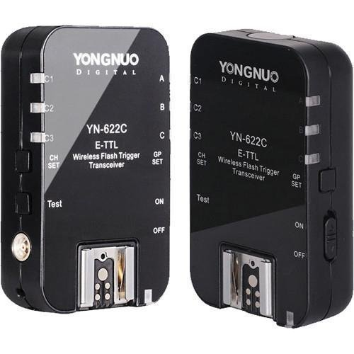 Yongnuo YN-622C Wireless TTL Flash Trigger for Canon 7D 5DII 5DIII 1DIV 1DIII 5D+WINGONEER Diffusor