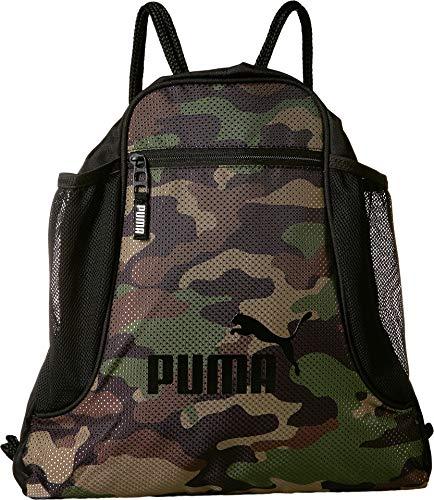 (PUMA Unisex Evercat Equinox Carrysack Green/Brown One Size)