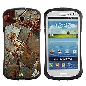 """Pulsar iFace Series Tpu silicona Carcasa Funda Case para SAMSUNG Galaxy S3 III / i9300 / i747 , Hoja de metal moho nave corrosión Construcción"""""""
