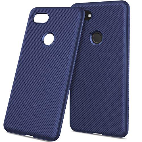 (AICEDA Google Pixel 3 XL Case Design Slim Slider Cover,Shock Absorption Design Bumper for Google Pixel 3 XL Case Google Pixel 3)