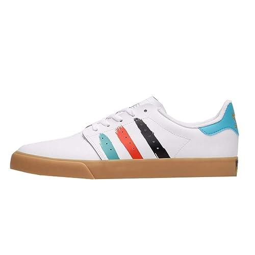 adidas - Botines Hombre, Color Blanco, Talla 45 1/3 EU: Amazon.es: Zapatos y complementos