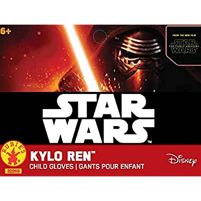 Star Wars: The Force Awakens Child's Kylo Ren Costume Gloves: Toys & Games