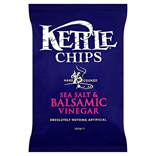 Kettle Chips Balsamic Vinegar & Sea Salt 150g - Pack of 2
