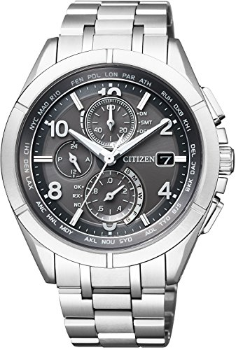 [Citizen] Watch Attesa atessa ECO Drive Atomic Clock Day In U.S. Air Radio Reception, Limited Model at8160-55H Men's -  AT8160-55H