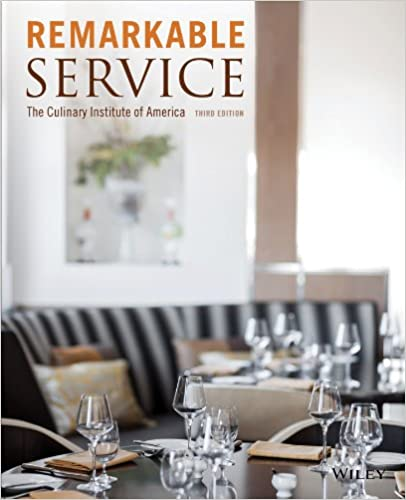 Remarkable Service The Culinary Institute Of America Cia