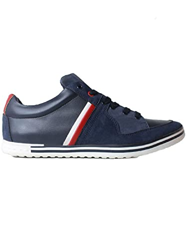 1ae311281736f4 Amazon.com | Will's Vegan Shoes Rome Trainers Navy Blue | Fitness ...