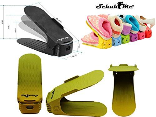 Profi Schuhhalter SchuhMe® 16 Verstellbarer x Schuhstapler XtxCH0qw0
