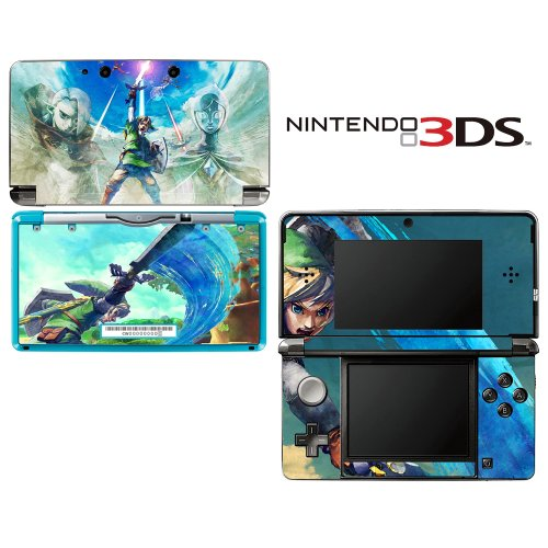 The Legend of Zelda: Skyward Sword Decorative Video Game Decal Cover Skin Protector for Nintendo 3Ds