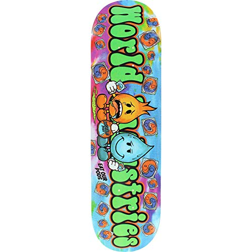 Skateboards Complete World Industries - World Industries Pods Skateboard Deck -8.25 - Assembled AS Complete Skateboard