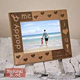 Cheap Personalized Dad Picture Frame – Husband Valentines Gift – Dad Gift From Daughter – Dad Gift From Son – Dad Gift From Children – HHDPF