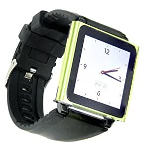Snugg iPod Nano Watch Band - Quality Watch Strap for Nano 6G (Clip on)