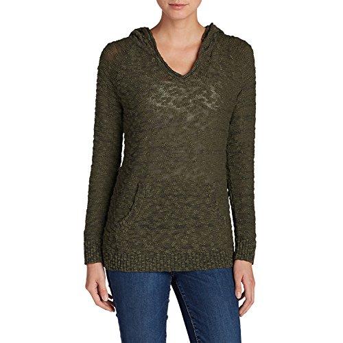 New Eddie Bauer Women's Westbridge Hooded Sweater - Solid