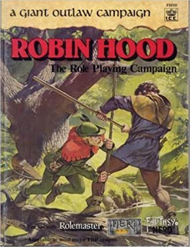 Book Robin Hood: A Giant Outlaw Campaign (Rolemaster #1010) by Graham Staplehurst (1987-04-03)