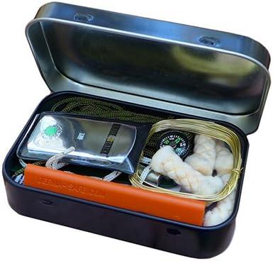 ESEE - Randalls Adventure Mini Kit de supervivencia en lata: Amazon.es: Deportes y aire libre