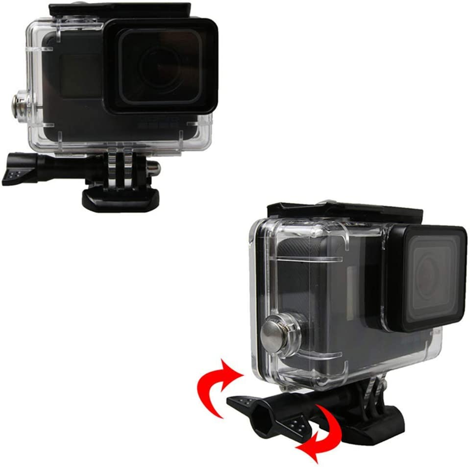 Underwater 45m Diving Waterproof Protective Housing Case Anti-Fall Protection Box 8X4.6X8.5cm 136g